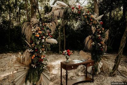 Natasha e Marcelo criam efeito incrível de vínculo com a natureza ao redor